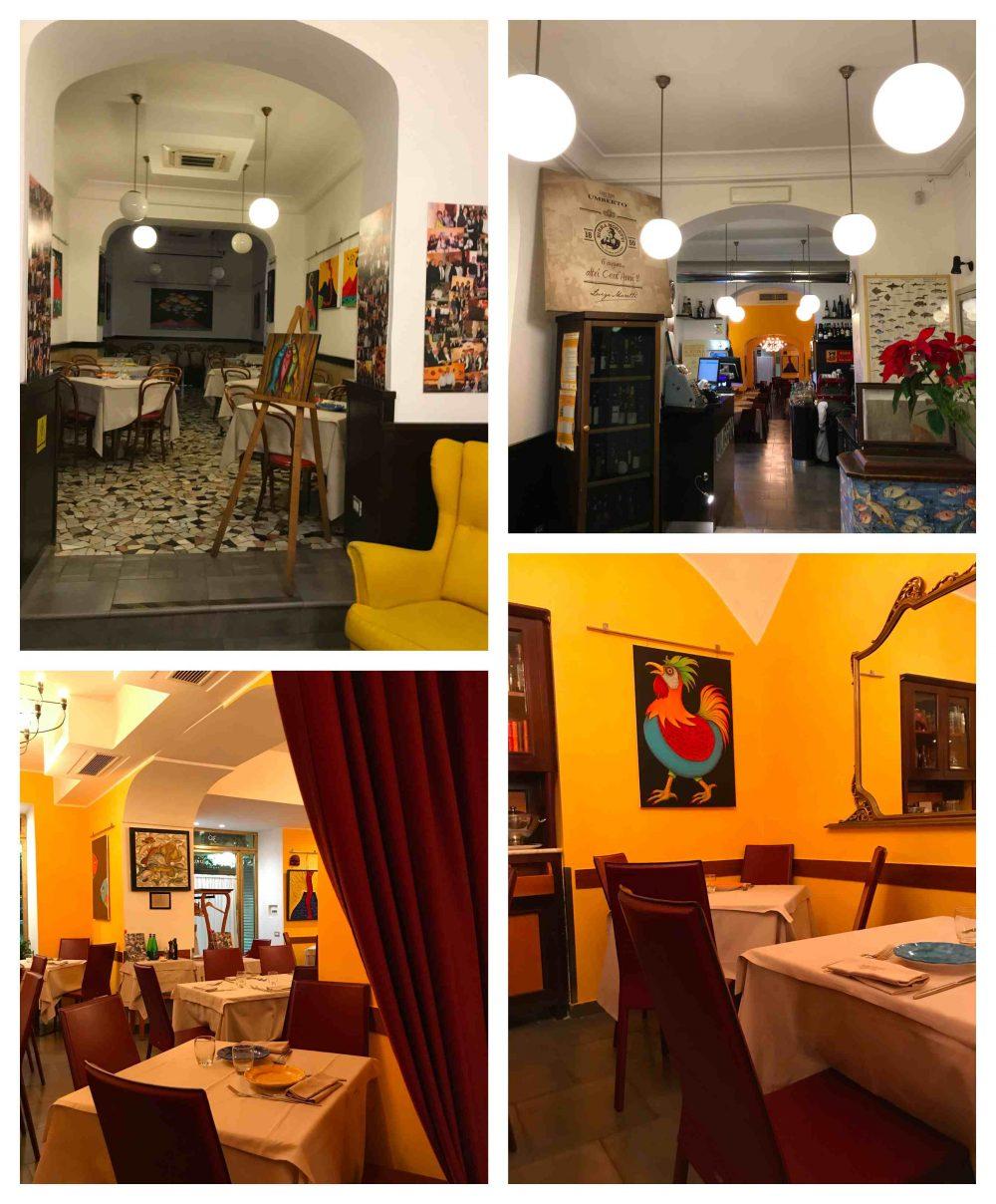 Ristorante Pizzeria Umberto - sala