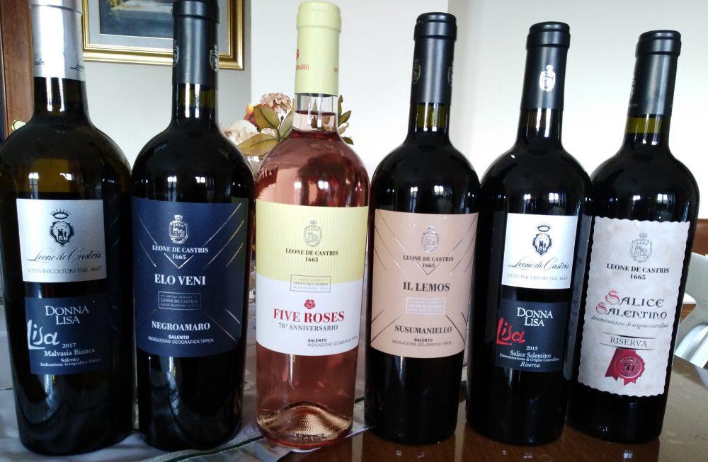Vini Leone De Castris Nuove annate