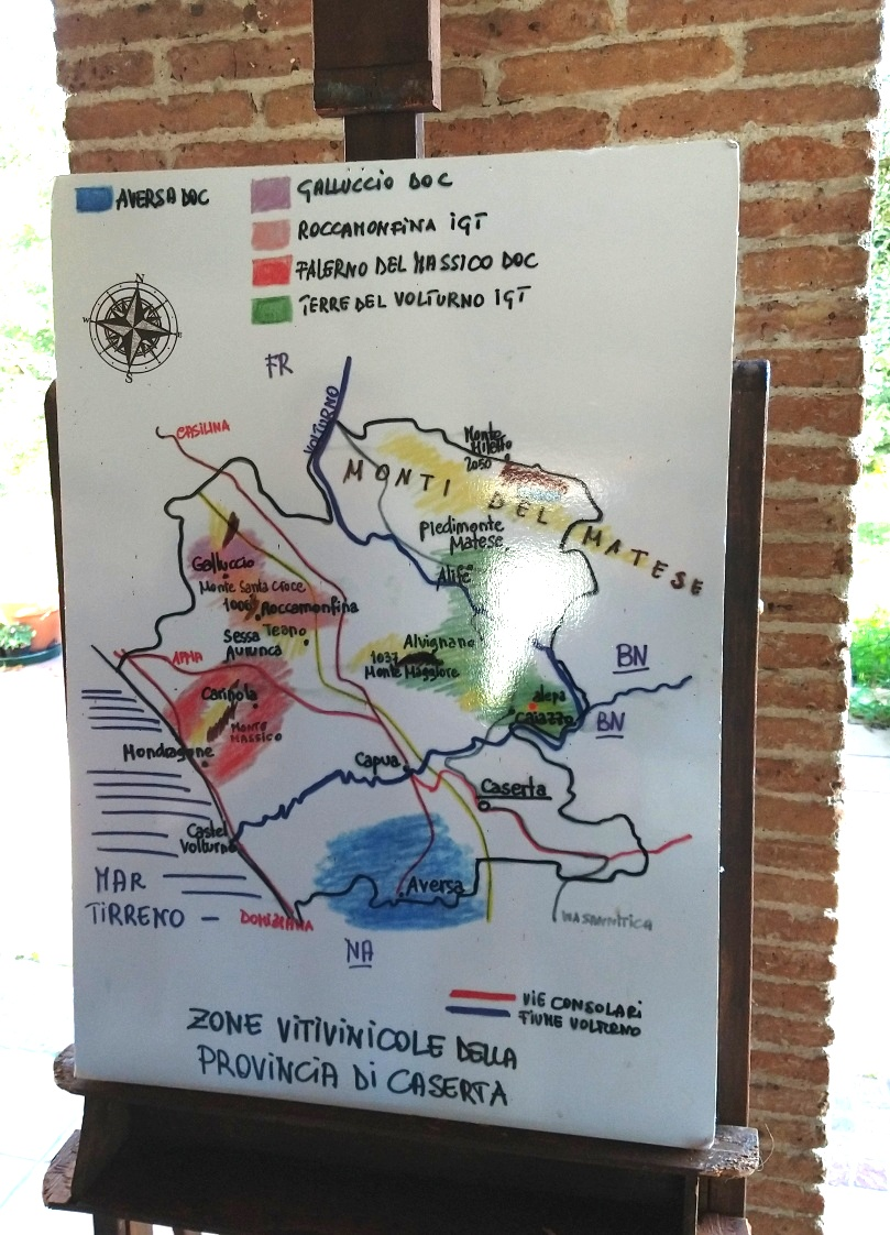 Zone Vinicole Provincia di Caserta