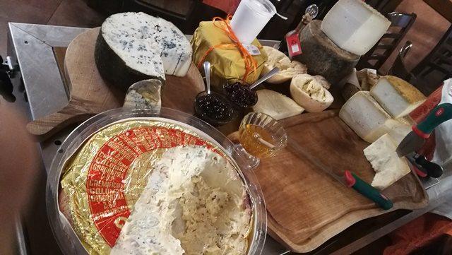 Il Sauro - I formaggi