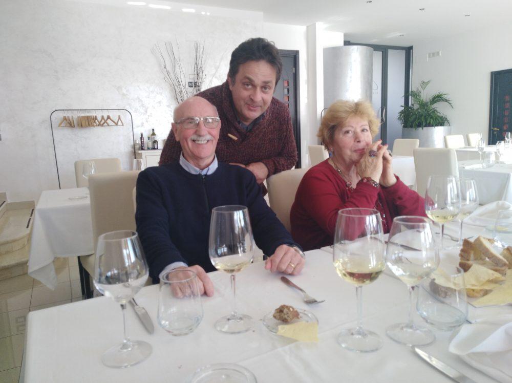 io, Mario Riccardi ed Eugenia
