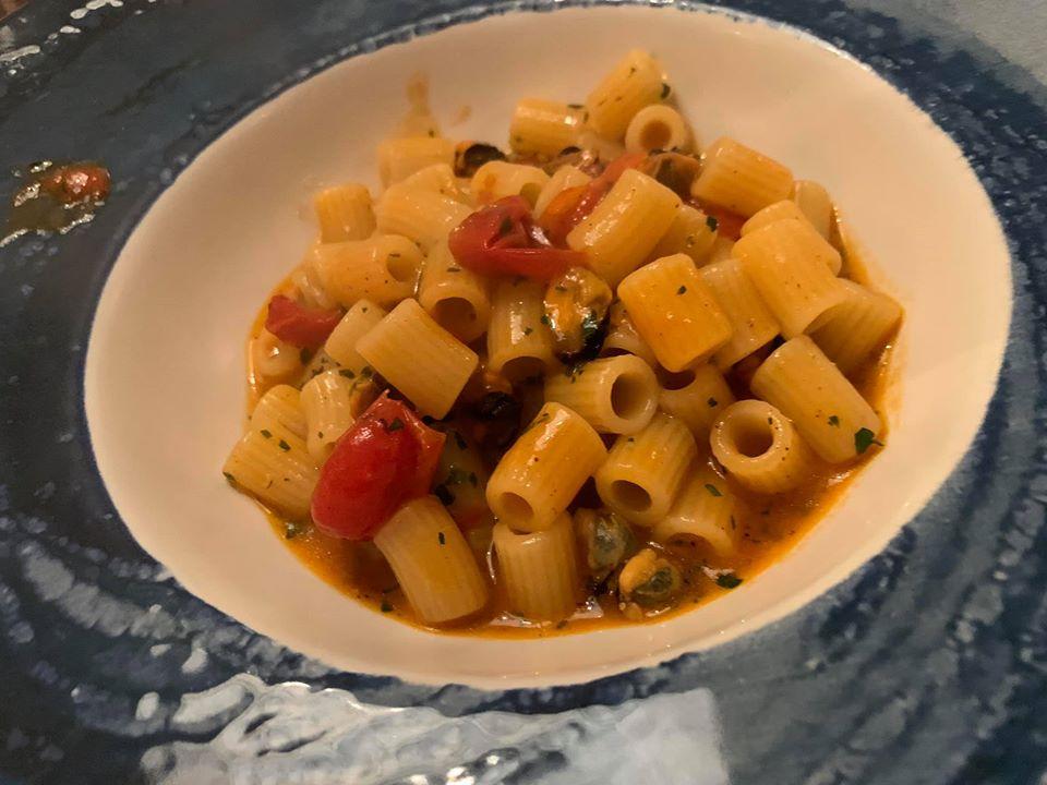 Core restaurant - Tubetti con le cozze