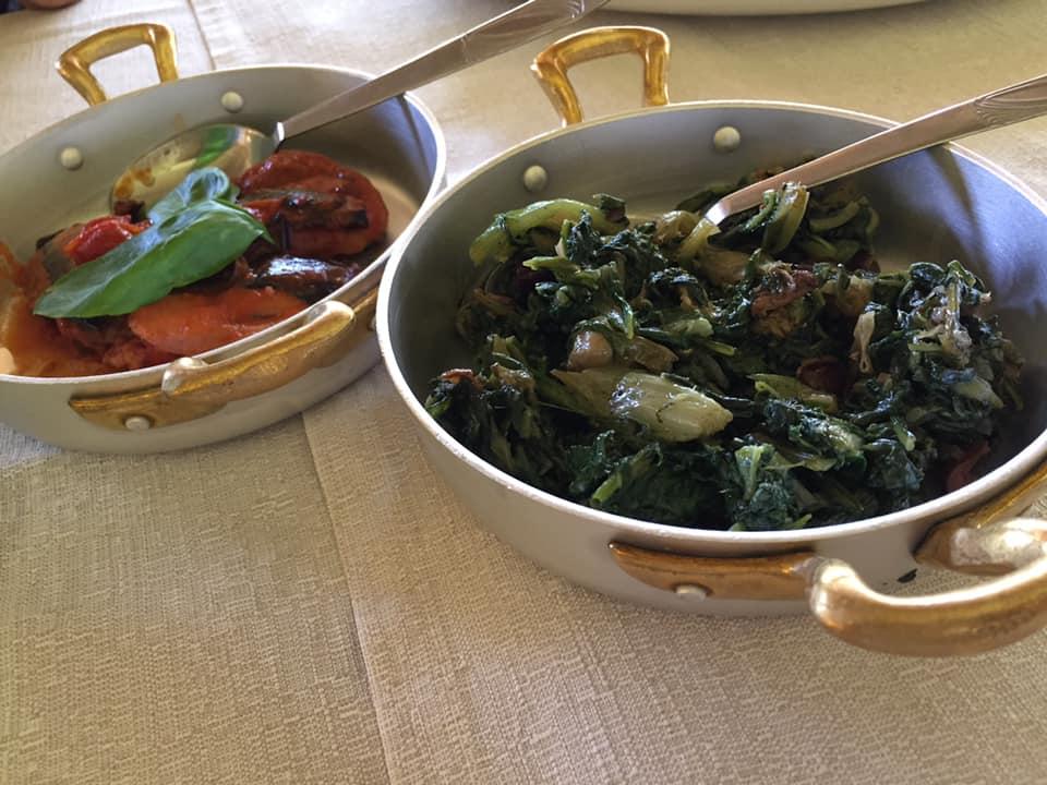 La Chioccia d'Oro, minestra di verdure e peperoni