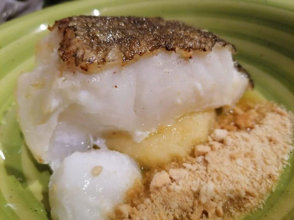Binario Due - Baccala' patate al limone e tarallo sbriciolato