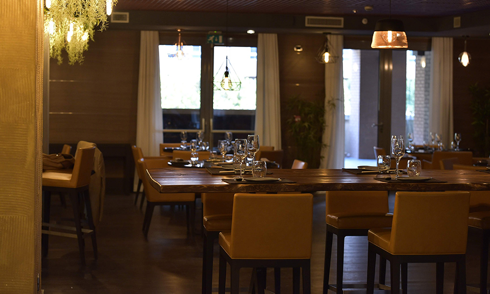 Bloo Fusion Restaurant, la Sala
