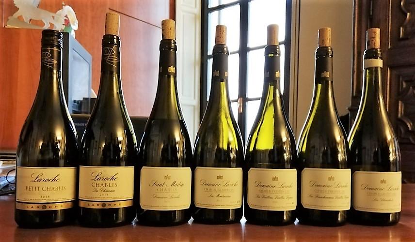 Domaine Laroche e lo Chablis - Bottiglie