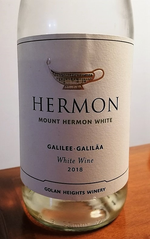 Hermon Golan Heights Winery – Galilee Mount Hermon White 2018