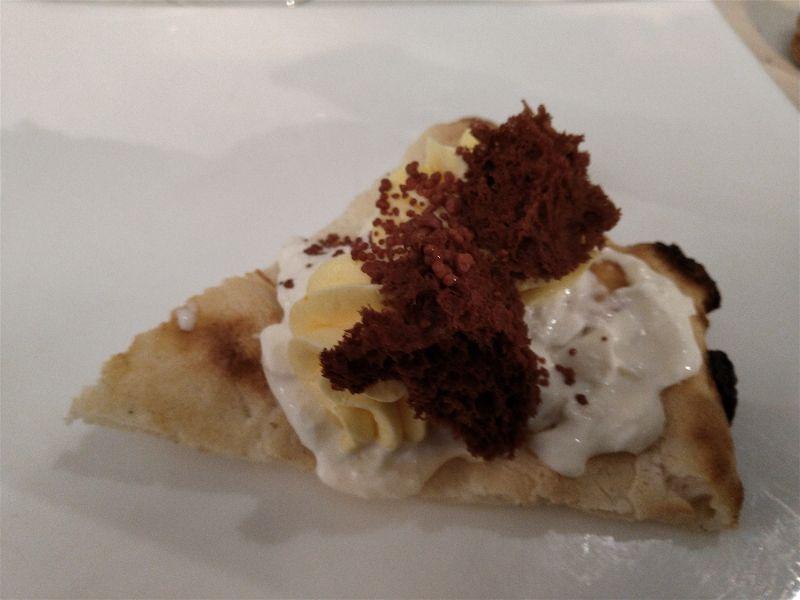 Il Vecchio e il Mare - pizza dessert