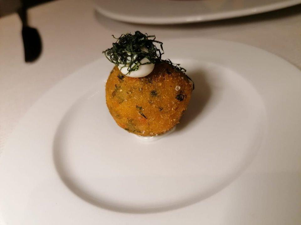 JOIA - Da Il Volto della Natura, la crocchetta di verdure