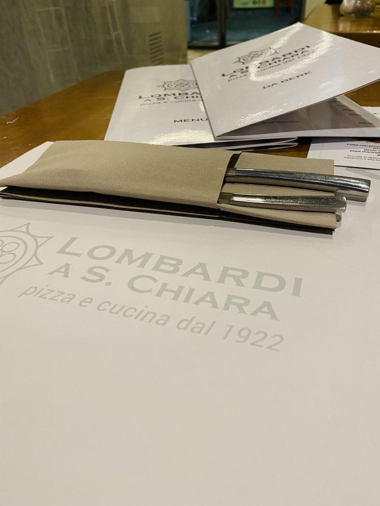 Lombardi a Santa Chiara - mise en place