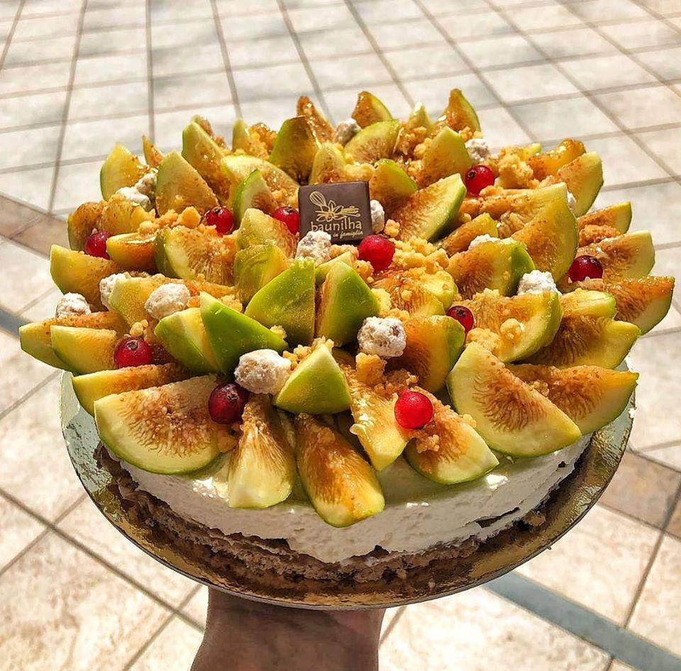 Pasticceria Baunilha - torta coi fichi