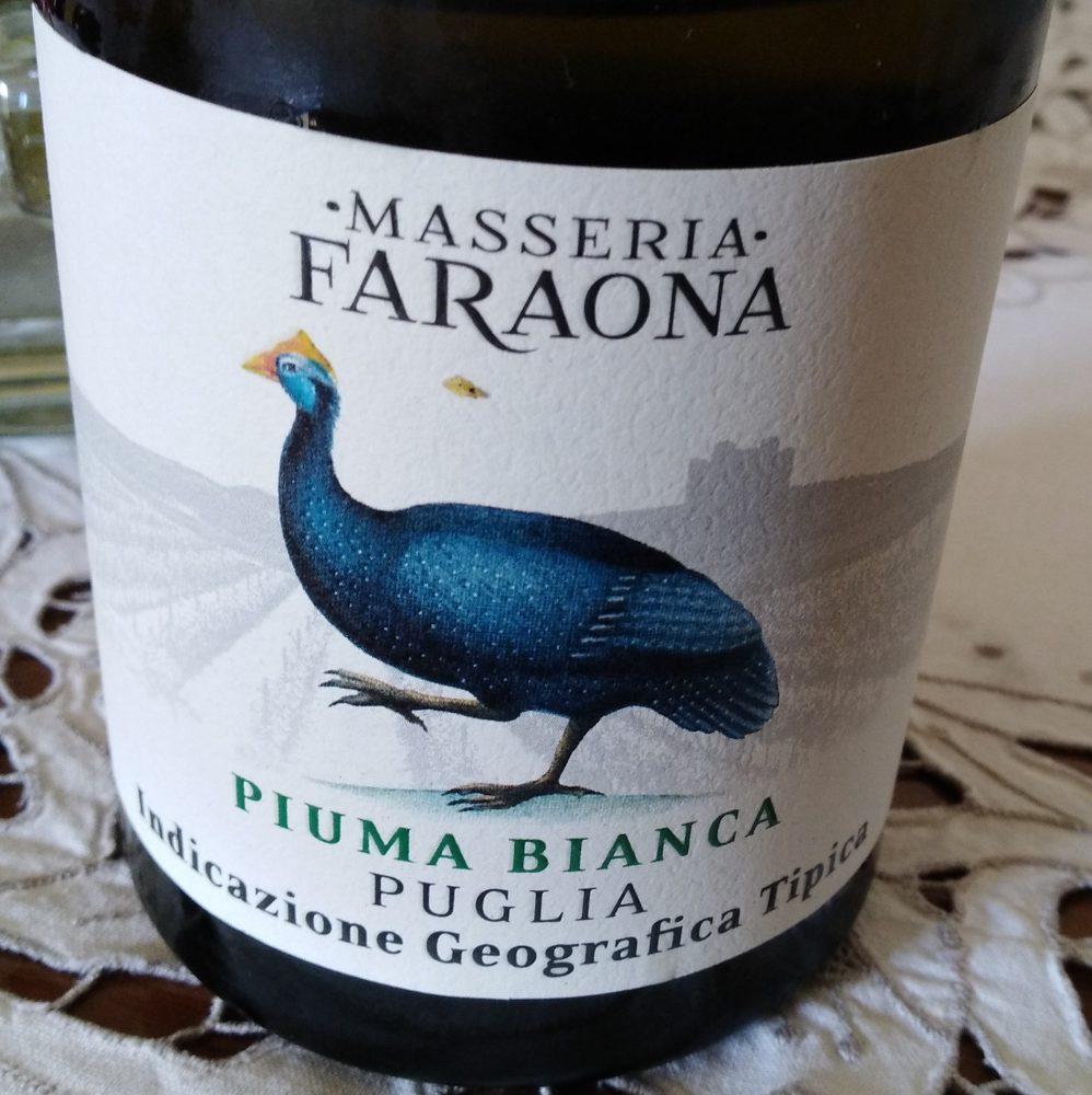 Piuma Bianca Moscato Bianco-Fiano Puglia Igt 2018 Masseria Faraona