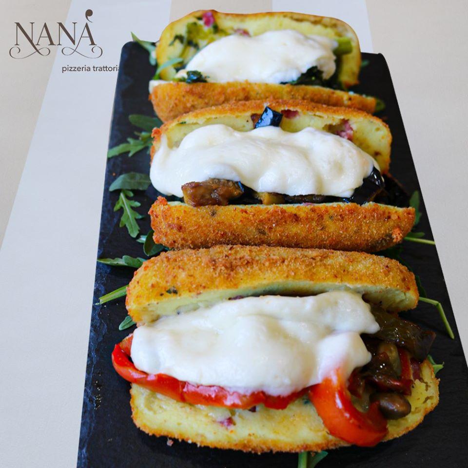 Pizzeria Nana'- crocche' farcito Nana'
