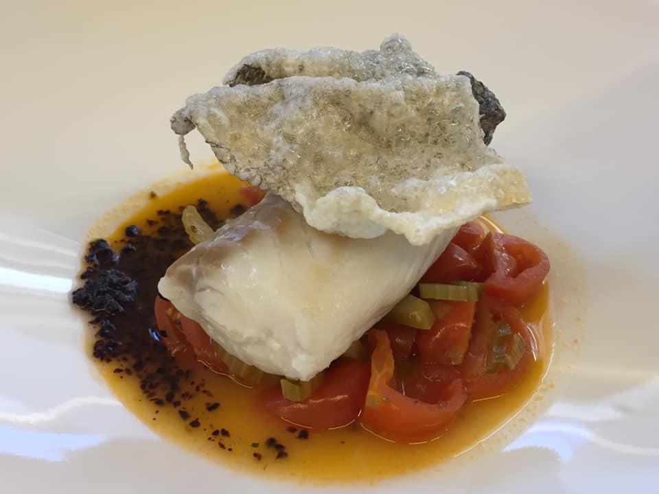 Sciabbo' Restaurant, baccala' in guazzetto