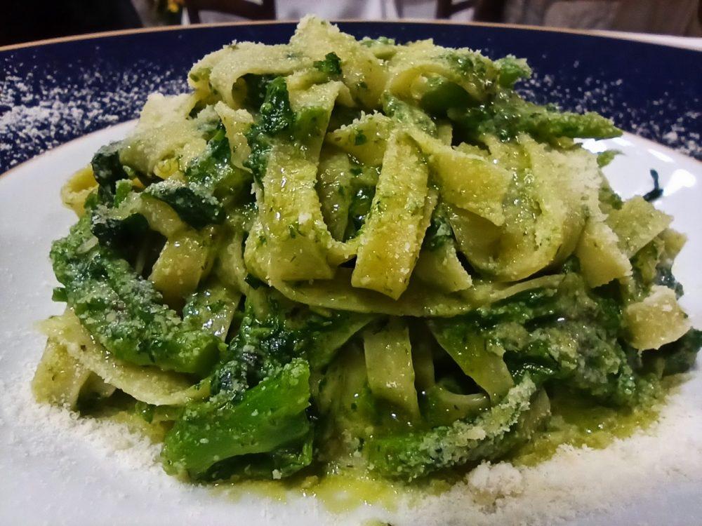 Al Poggio Antico - Tagliatelle ai Broccoli del proprio orto