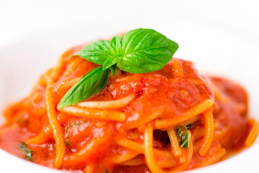 Spaghetti al Pomodoro @Alessandra Farinelli