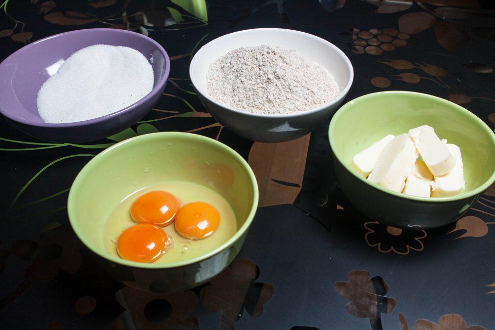Biscotti di pastafrolla - ingredienti