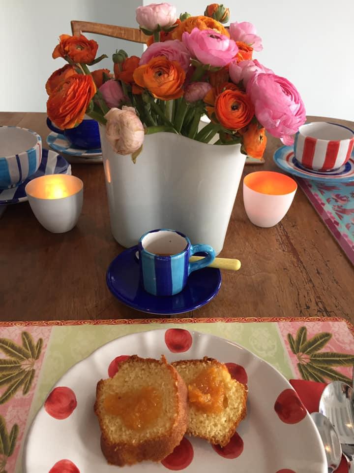 La Minervetta maison, ciambelloni con marmellata alle arance di Sorrento