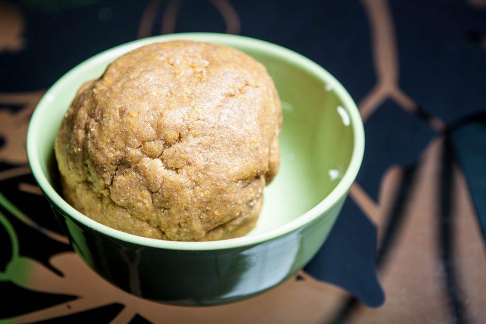 Biscotti di pastafrolla - l'impasto lavorato