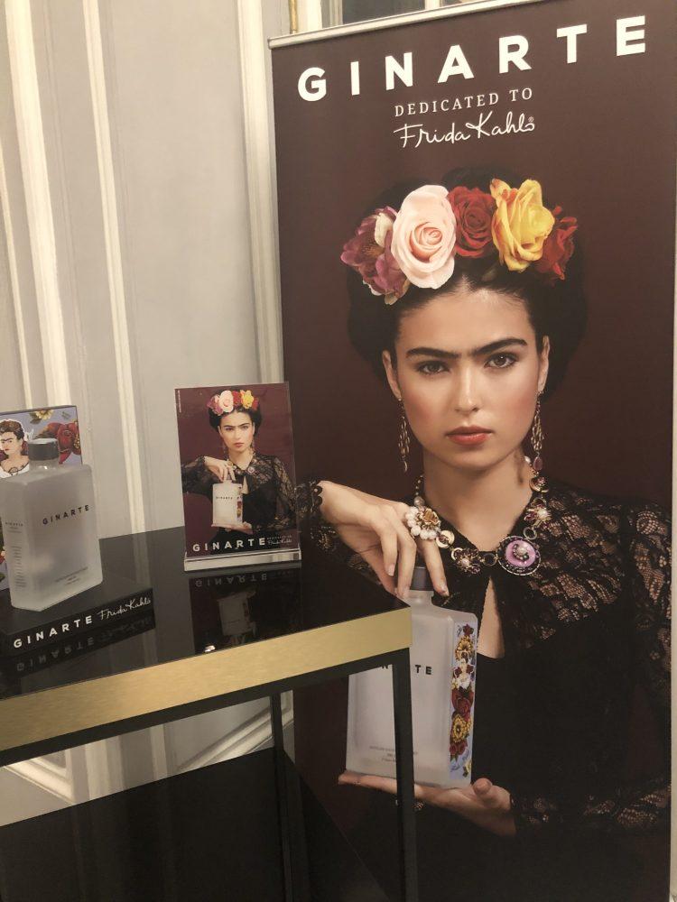Ginarte e Frida Kahlo