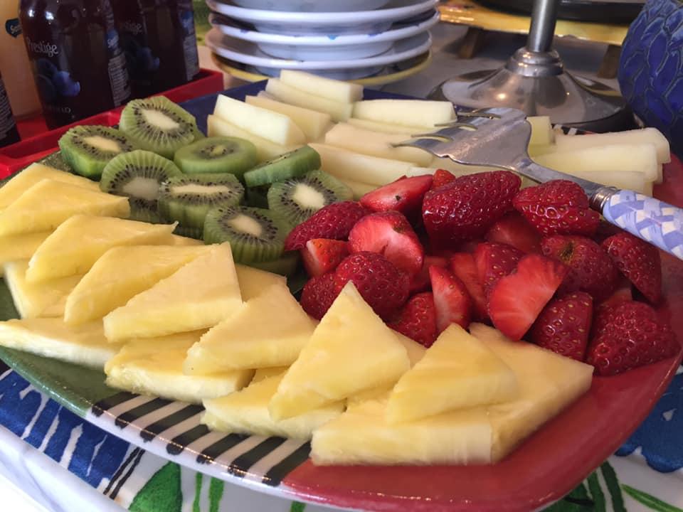 La Minervetta maison, la frutta fresca