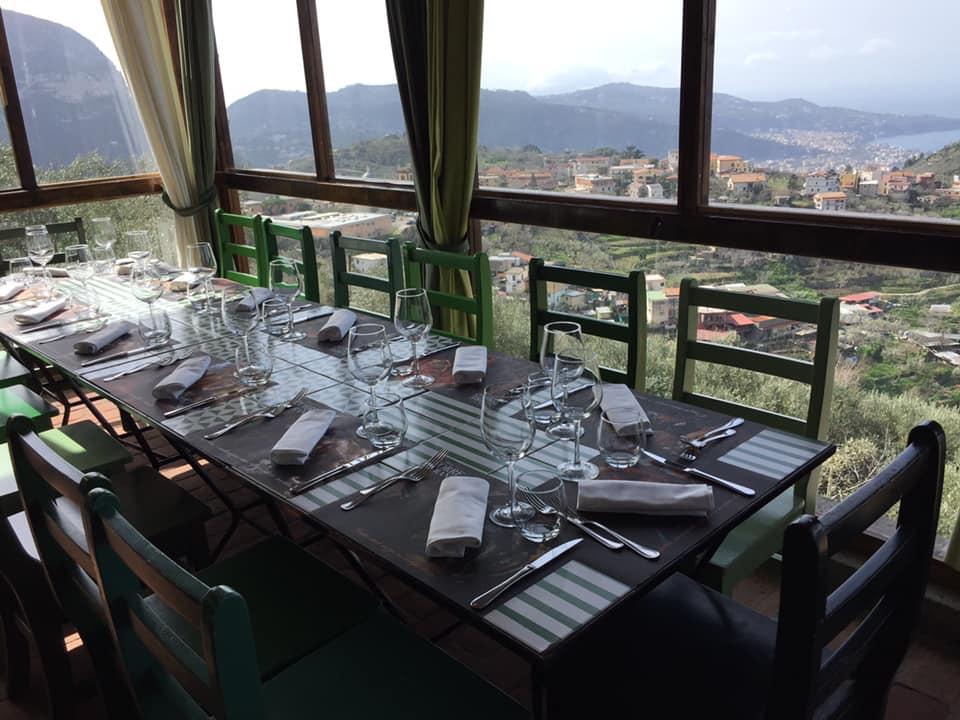 Torre Ferano, la veranda panoramica