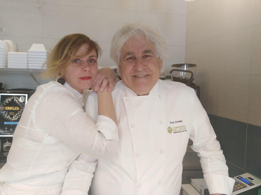 Alessandra Sansone ed Enzo Crivella