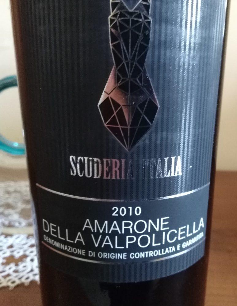 Amarone della Valpolicella Docg 2010 Scuderia Italia
