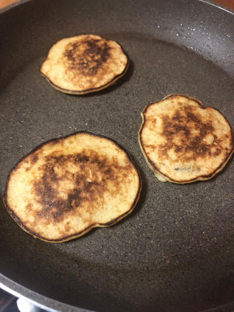 Banana pancakes di progetto Fygo