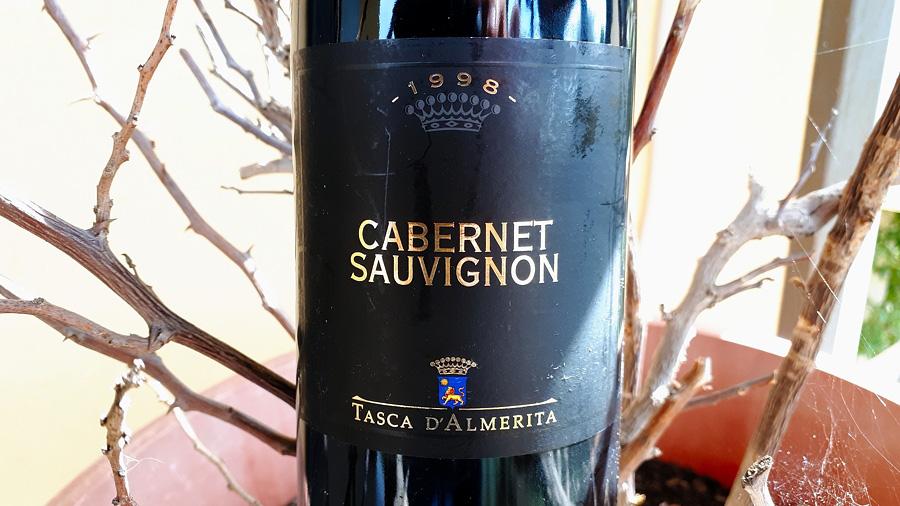 Cabernet 1998 Tasca d'Almerita