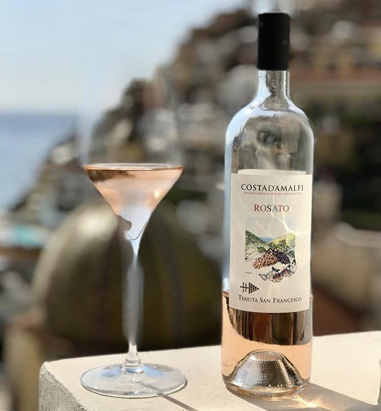 Costa D'Amalfi rosato di Tenuta San Francesco