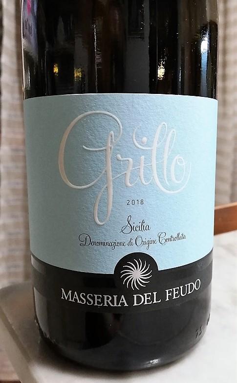 Masseria del Feudo – Doc Sicilia Grillo 2018