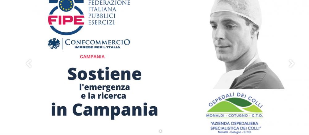 F.I.P.E. - Confcommercio Imprese per l'italia - Campania Noi li aiutiamo, loro ci curano
