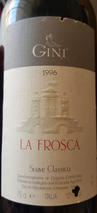 Gini – Soave Classico La Frosca' 1996