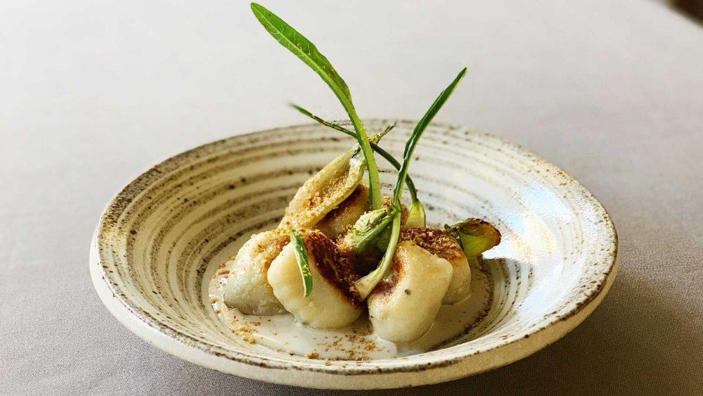 La cucina italiana del ristorante Daniel Canzian a Casa Tua-Gnocchi di patate