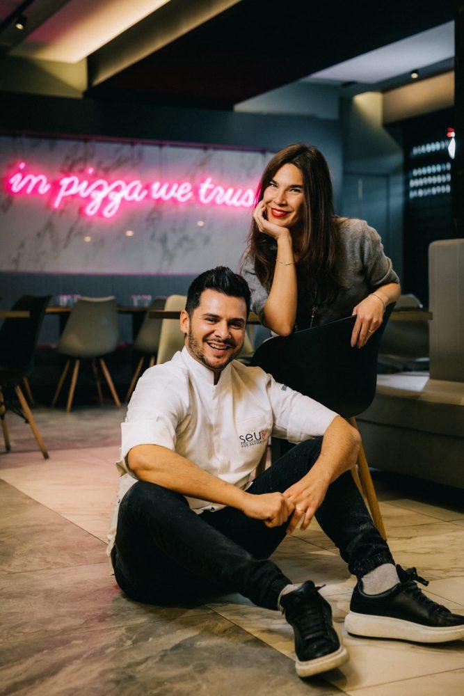 Pier Daniele e Valeria insieme nel lavoro