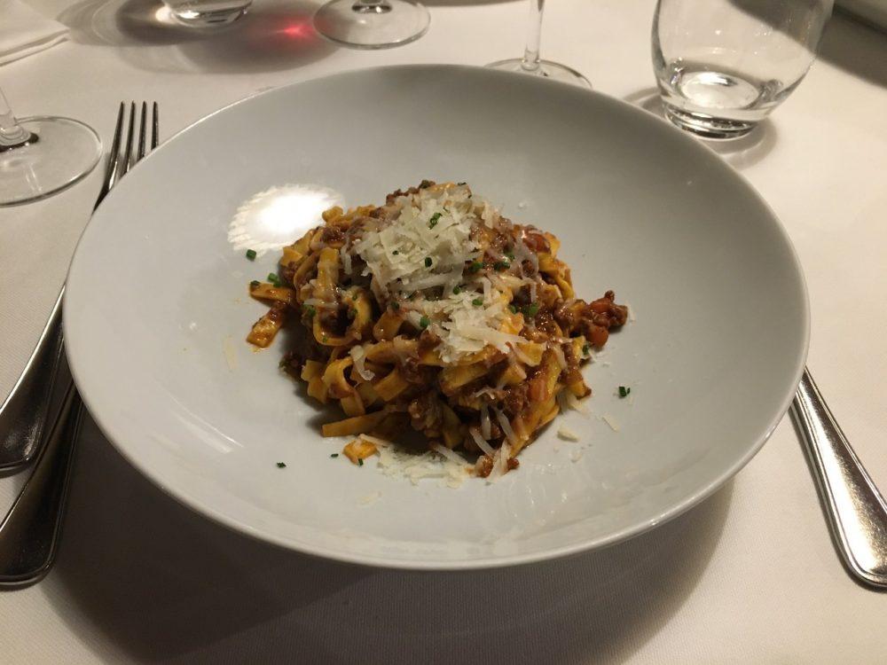 Trattoria Porteri - Tagliatelle al ragu' di manzetta