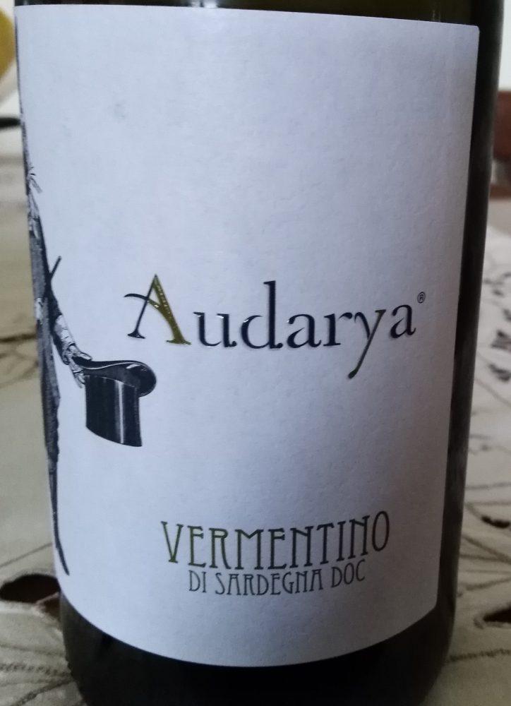 Vermentino di Sardegna Doc 2018 Audarya