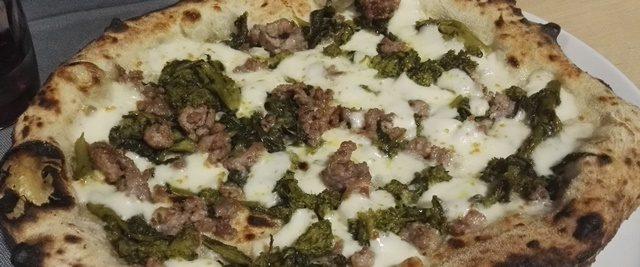 Kilometro 32 - Pizza broccoli e salsiccia