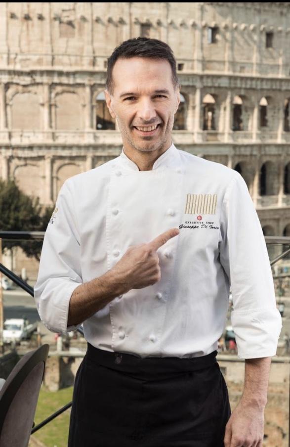 Lo chef Giuseppe Di Iorio dara' lezioni di cucina via streaming - Dinner at Home