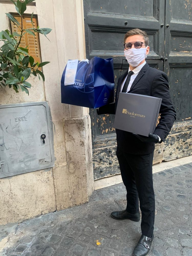 Delivery a Roma