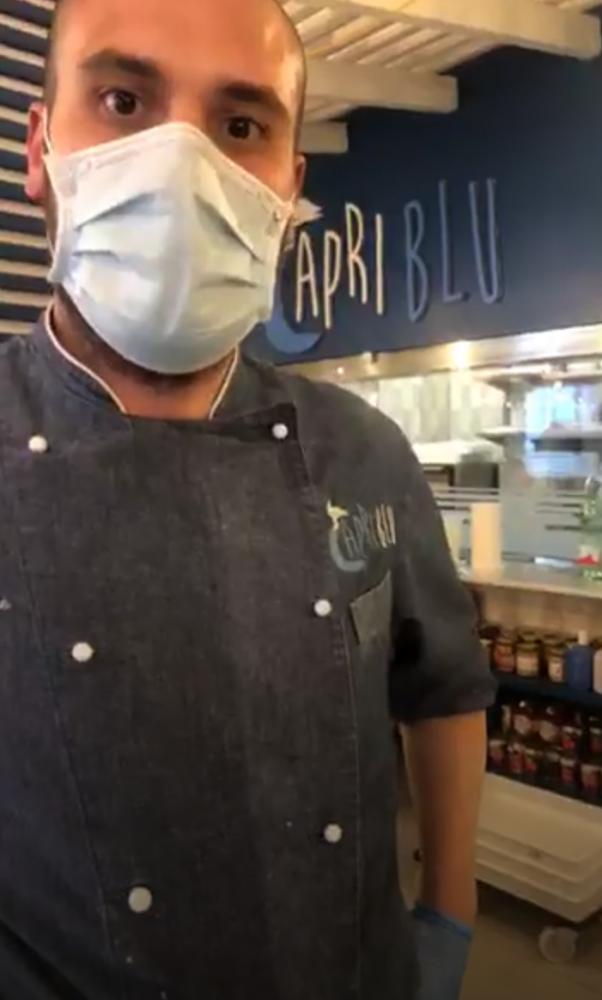 Emiliano Corvione Capri Blu Torre Annunziata