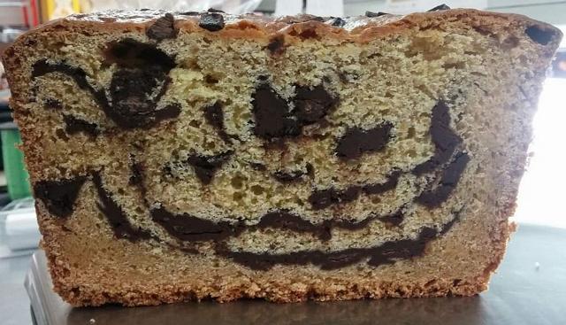Alimentari Cinque Giovanna - l'interno della torta ricresciuta al cioccolato