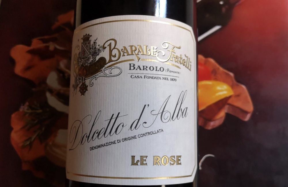 Dolcetto d'Alba Le Rose 2015, Barale F.lli