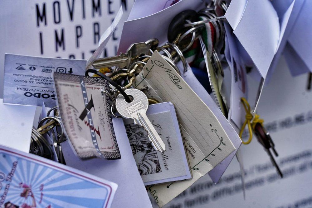 Consegnate al sindaco 1500 chiavi dei Ristoratori Toscana