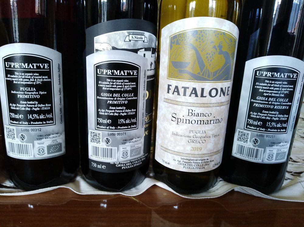 Controetichette Vini Fatalone