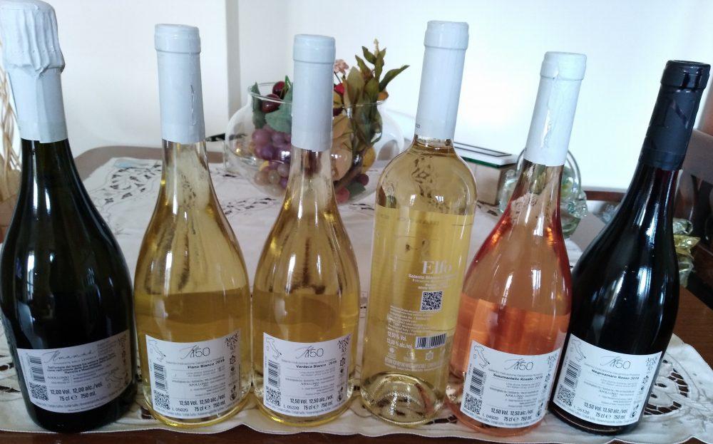 Controetichette vini Apollonio