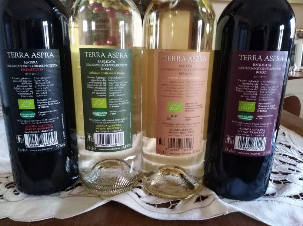 Controetichette vini Tenuta Marino