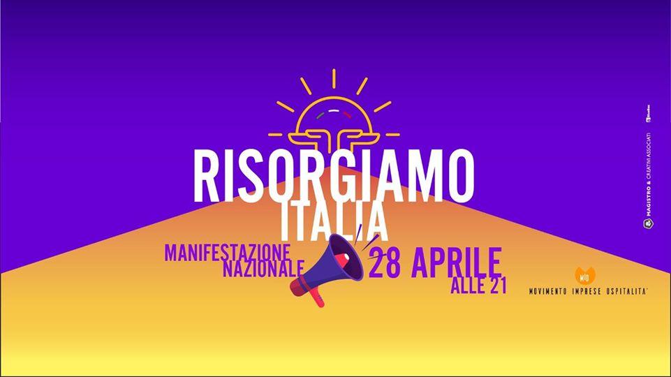 Flash mob nazionale RisorgiAmo Italia