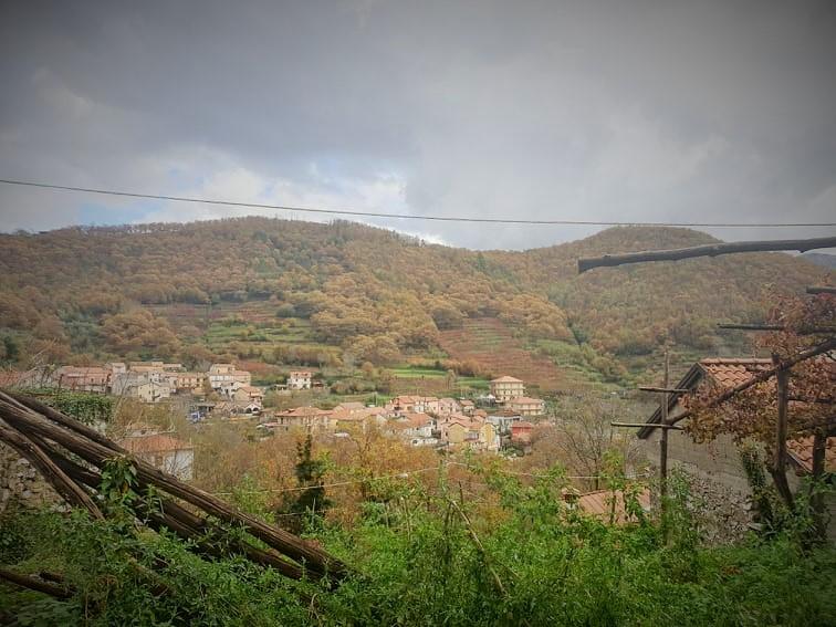 Il panorama su Tramonti